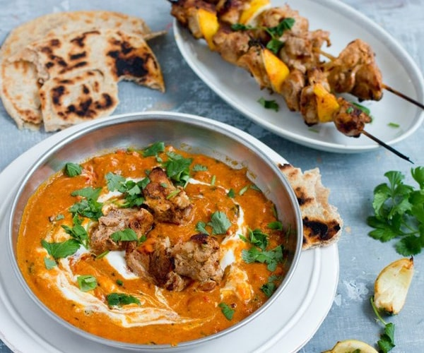 Tikka Masala with Chicken Kababs